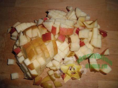 Как приготовить пышные оладьи на кефире с яблоками