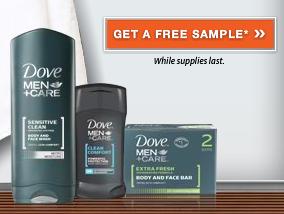Walmart: FREE Dove Men+Care Samples - Queen of Free