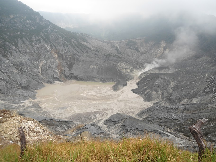 A Volcano in Indonesia