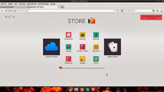 Liberación Dax OS 2.0.2 y sus sabores
