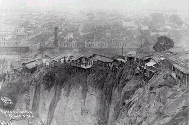 Com a criação do Morro da Providência, juntamente com o Bota Abaixo de Pereira Passos, as favelas no Rio de Janeiro começaram a se alastrar.