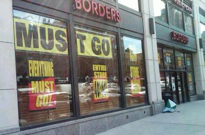 Borders Bankruptcy Sale Borders Filed For Bankruptcy