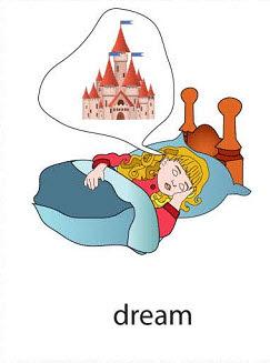 dream%2520 %2520flashcard Verb flashcard