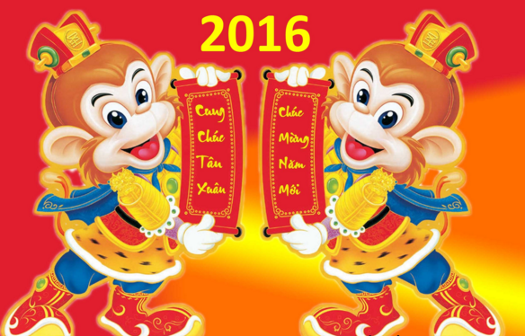 Những bài thơ chào Xuân Bính Thân, chúc mừng năm mới 2016
