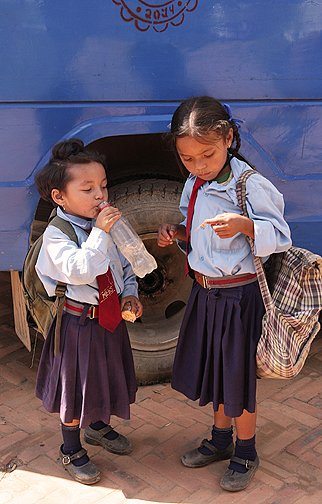 sankhu school girls