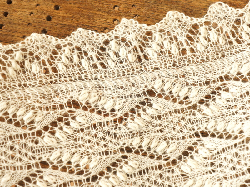 Estonian knitted lace