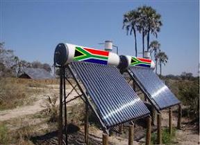 1 Millón de Calentadores Solares para Sudáfrica