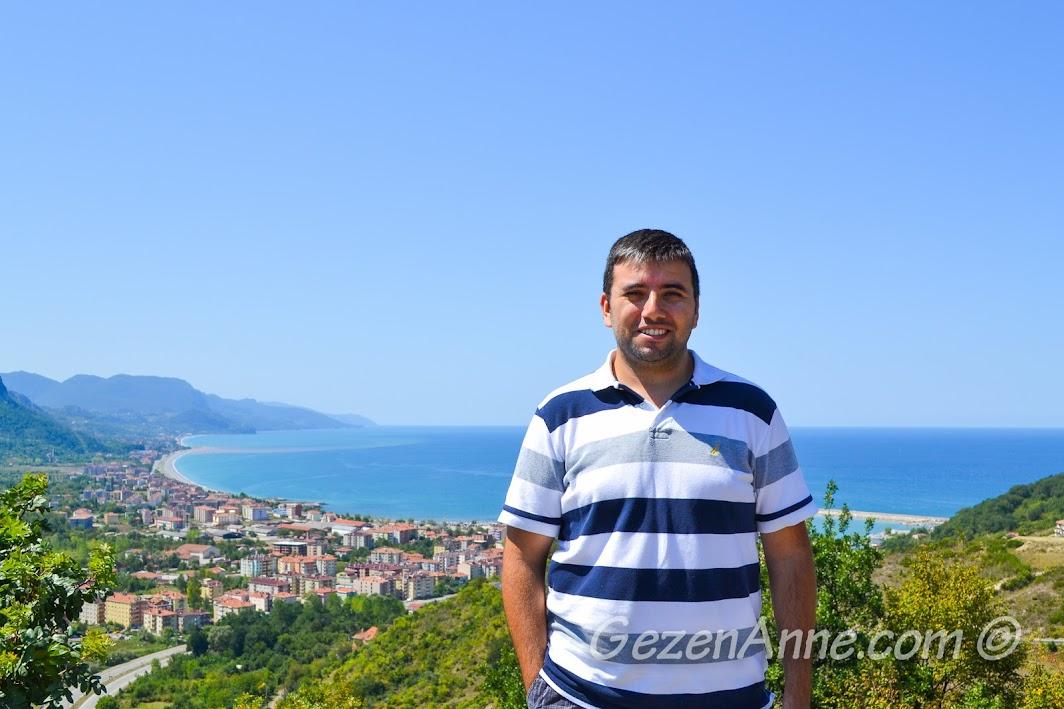 Bakacak'tan Cide manzarası