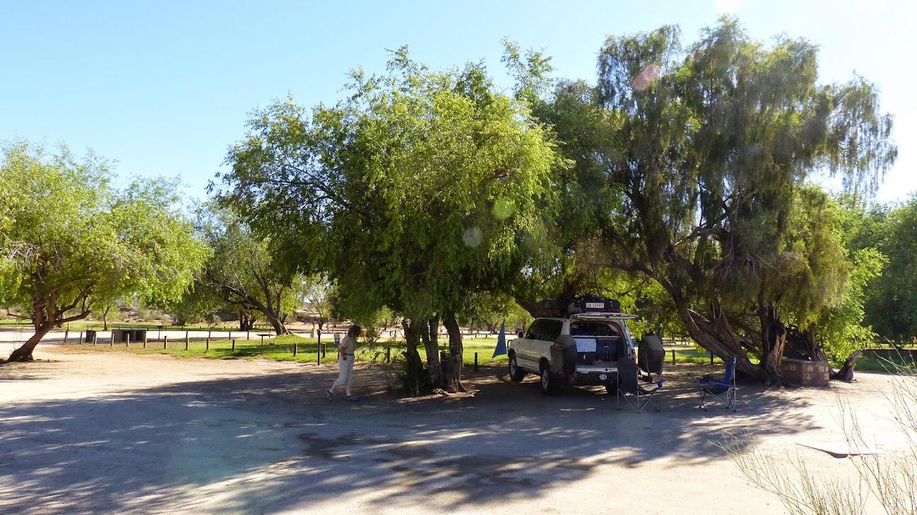 Deserted Campsite