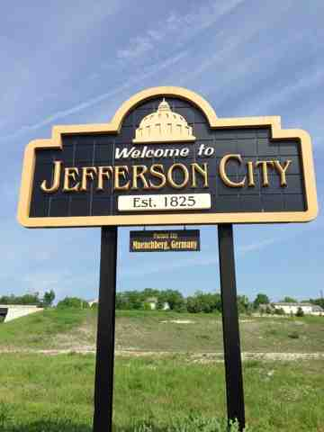 Day 078 Jefferson City To St Martins Mo College