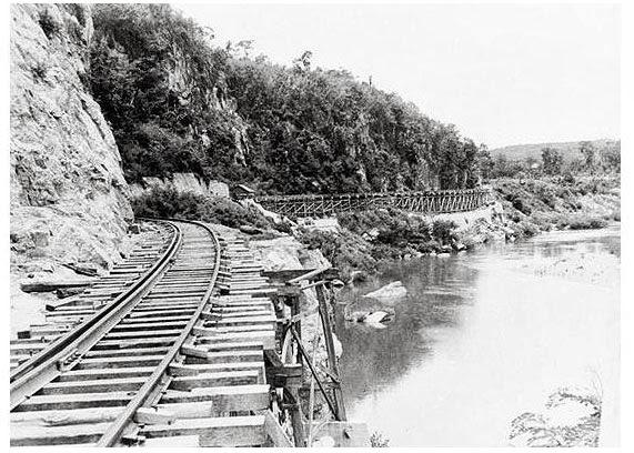 Death Railway Thailand, Thai burma railway archive photo