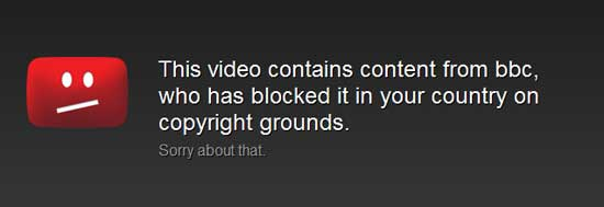 Watch Blocked YouTube Video With ProxyTube Chrome Extension
