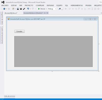 Desarrollar aplicación C# para acceso a SQLite de forma nativa con ADO.NET Driver System.Data.SQLite