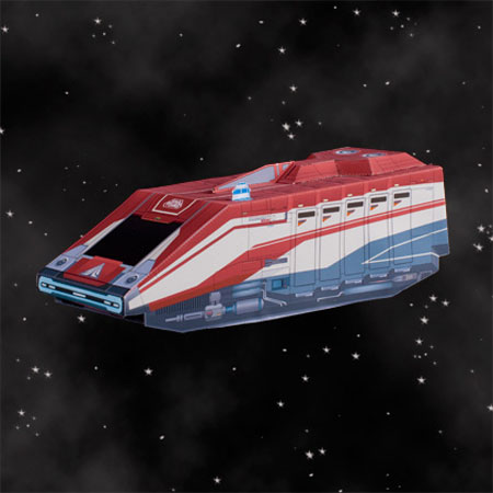 Star Tours Starspeeder Papercrafts