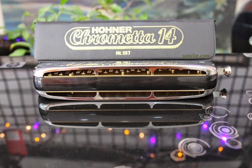 Kèn Harmonica - Hohner Chrometta 14