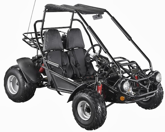 Black 150cc Twister Dune Buggy