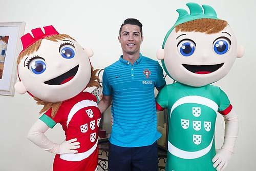 Lesionado, Cristiano Ronaldo é a grande ausência (foto FPF/arquivo)