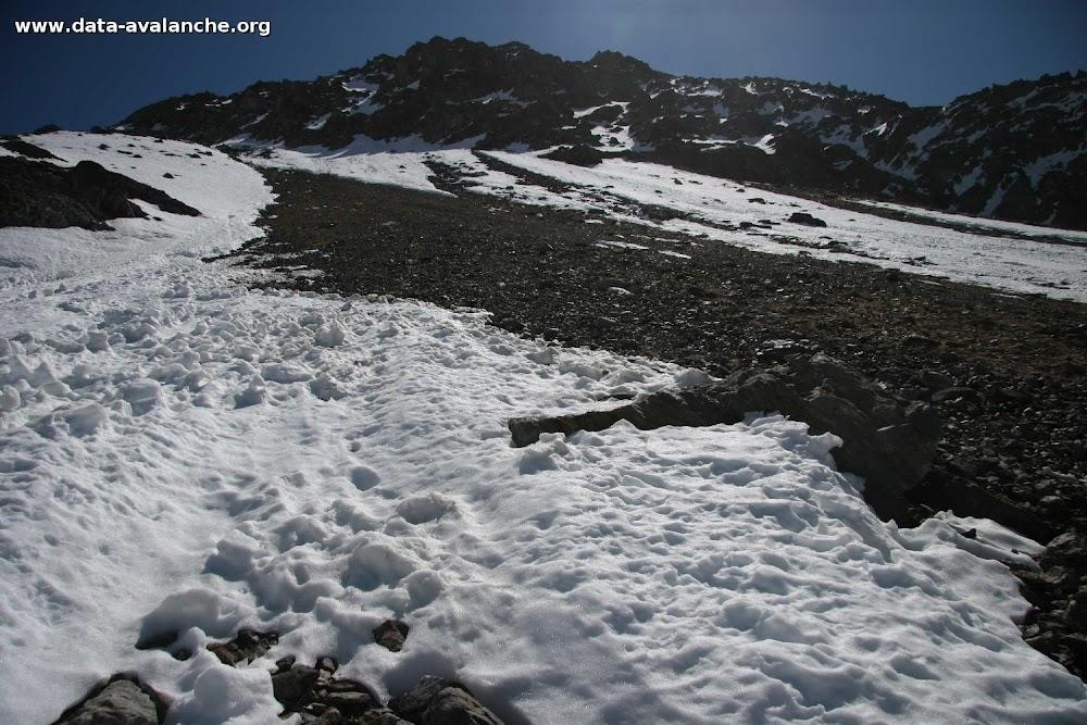 Avalanche Oisans, secteur Aig du Plat de la Selle, Combe de l'Aiguilla - Photo 1