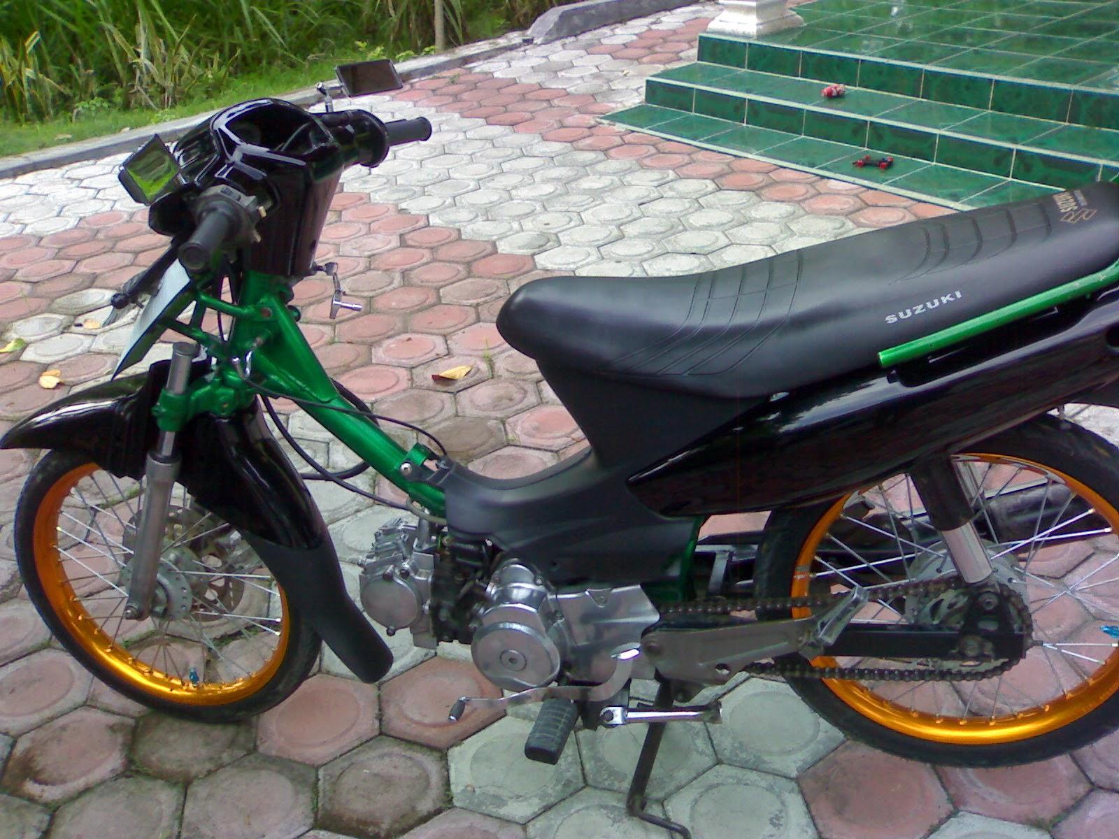 Modifikasi Motor Suzuki Shogun Kebo Wacana Modif Motor