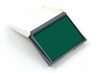 stamp pad, stempelkissen