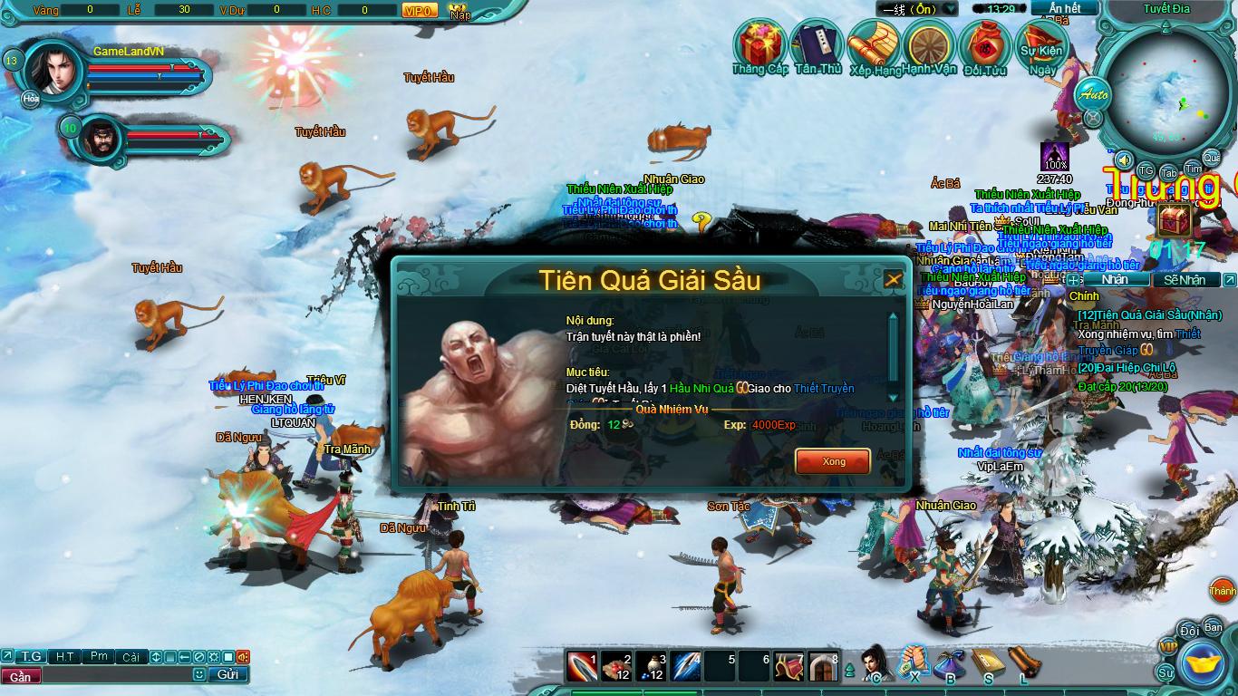 Hình ảnh thử nghiệm webgame Tiểu Lý Phi Đao - Ảnh 9
