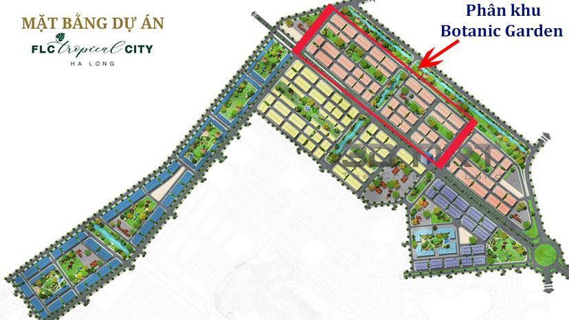 Phân khu Botanic Garden FLC Tropical City
