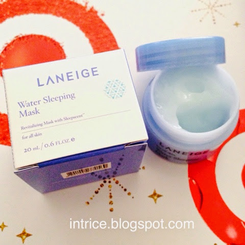 Laneige Water Sleeping Mask Pack EX - photo credit: intrice.blogspot.com