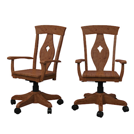 Bordeaux Office Chair in Vermont Maple