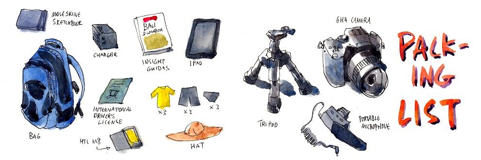 Moleskine Sketchbook 7 Aug - 10 Oct 2015 | Parka Blogs