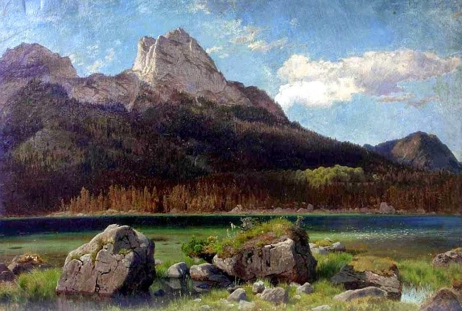 Johann Wilhelm Schirmer - Der Hintersse bei Berchtesgaden