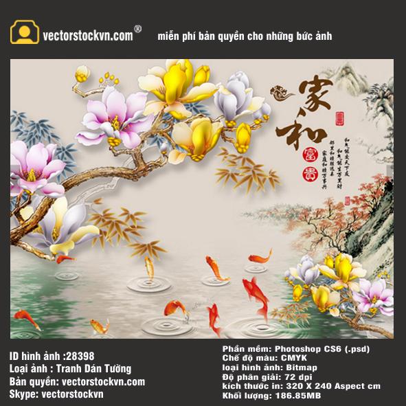 Tranh Hoa 3D.