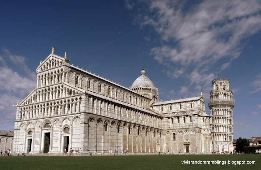 The Duomo and the Leaning Tower