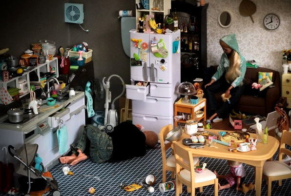 Crazy Barbie Mooqla Barbie