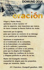 Oración Domund 2013