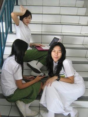 Foto Widi Vierra Ketika Masih Sekolah