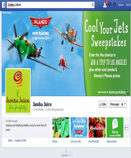 Jamba Juice on Facebook