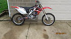 2004 HONDA CRF250R ROLLER WITH TITLE CRF 250 R CRF450R CRF 450 R CR500 CR250