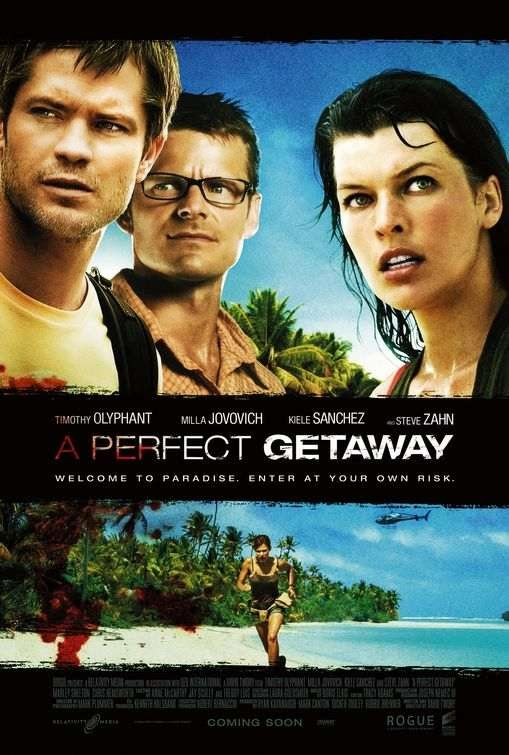 Poster Of A Perfect Getaway (2009) Full Movie Hindi Dubbed Free Download Watch Online At Alldownloads4u.Com
