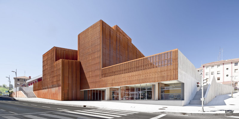 Imar arquitectura metal architecture metal oke - Steel framing espana ...