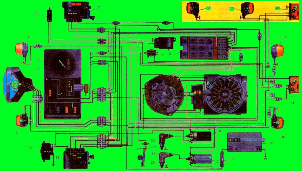 5- контактор стоп-сигнала