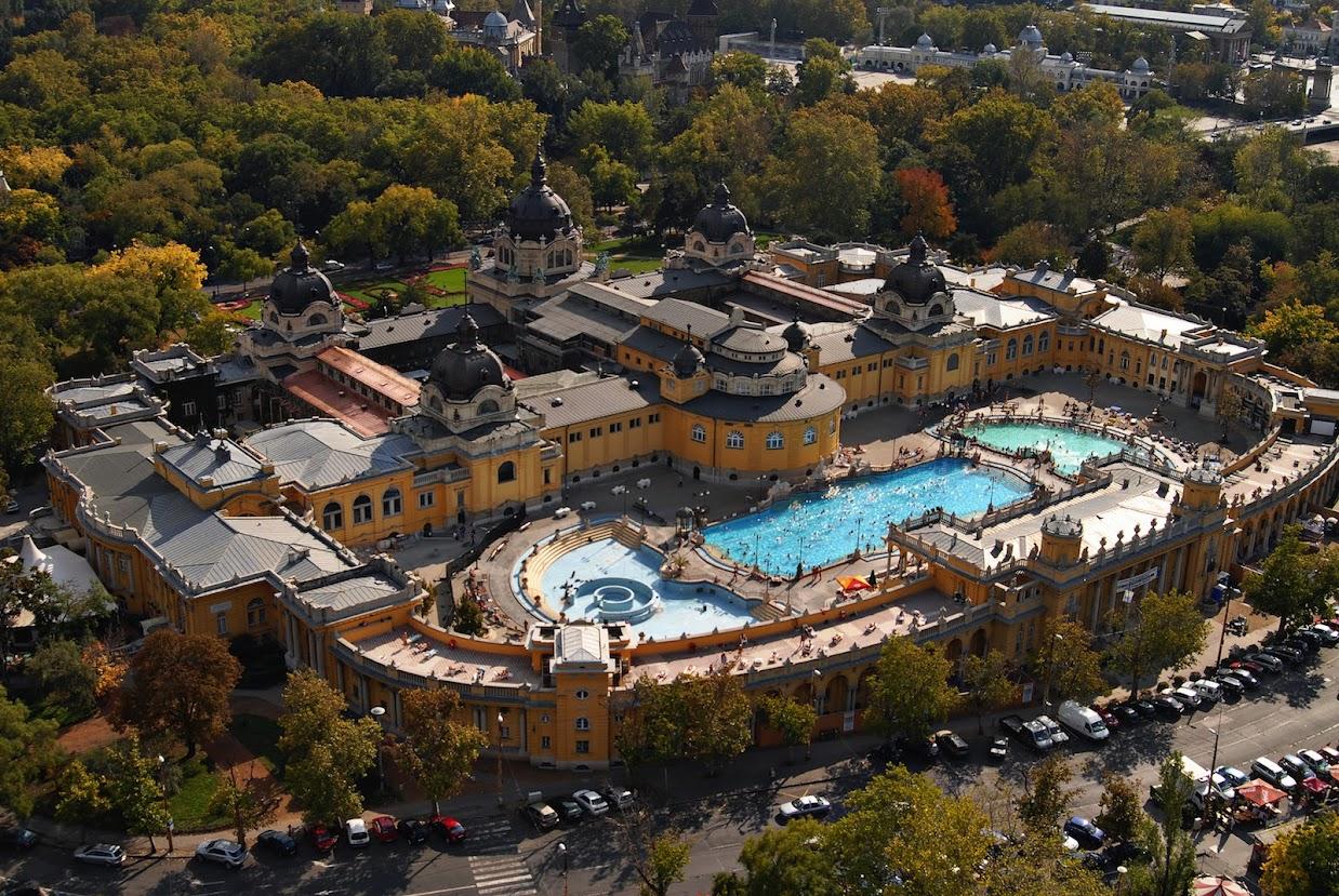 Danubius Health Spa Resort Margitsziget in Budapest, Hungary