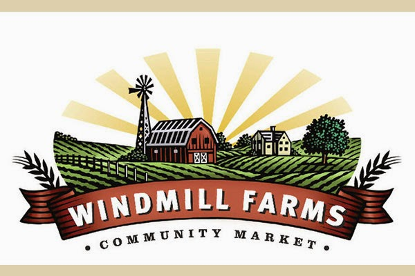 Organic Food San Diego Windmill Farms Logo