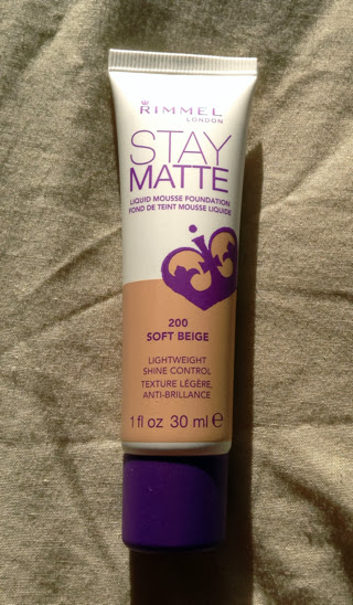 Picture of the matte foundation by Rimmel