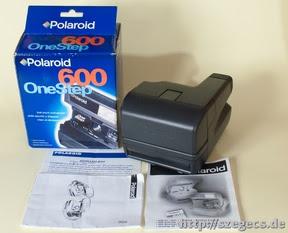Polaroid One Step instant és tartozékai...