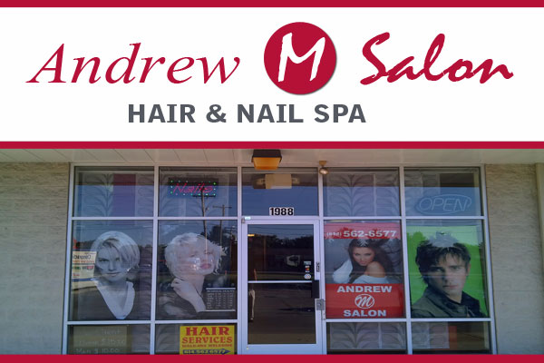 Hair Salon Columbus OH Andrew M. Salon Logo
