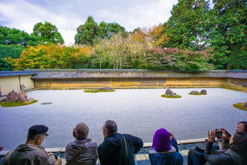 京都 龍安寺 石庭 写真