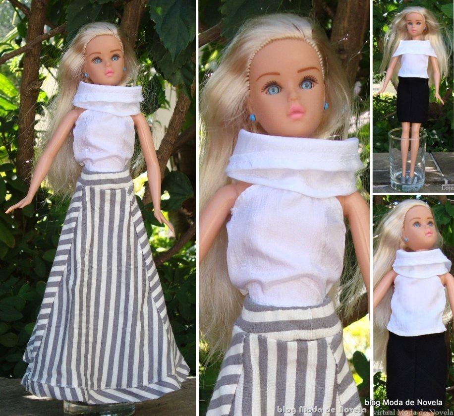 moda da novela Tititi - looks da bone ca Susi com roupas da loja Moda de Novela