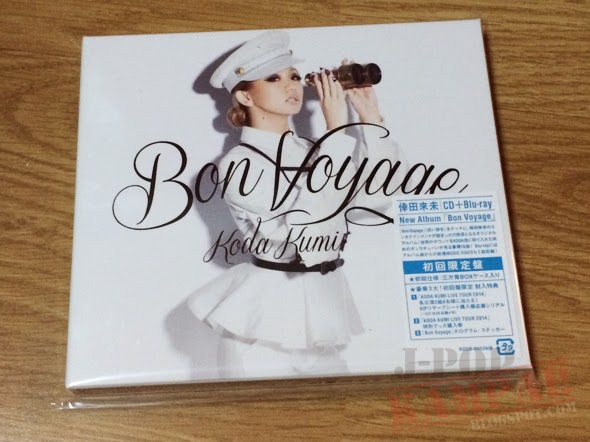 [CD Packaging] Koda Kumi - Bon Voyage (CD+Blu-ray)