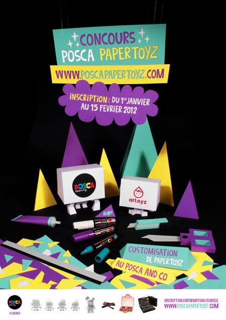 Posca Papertoyz Design Contest