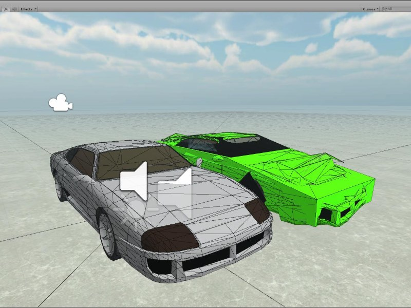 Unity 3D GTA SA Car Drive